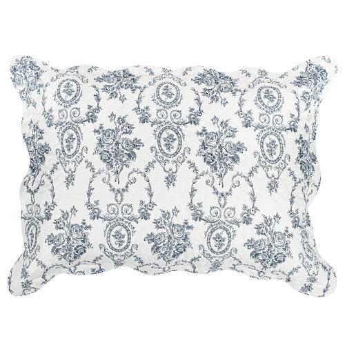 4Home Přehoz na postel Blue Patrones, 140 x 220 cm, 50 x 70 cm