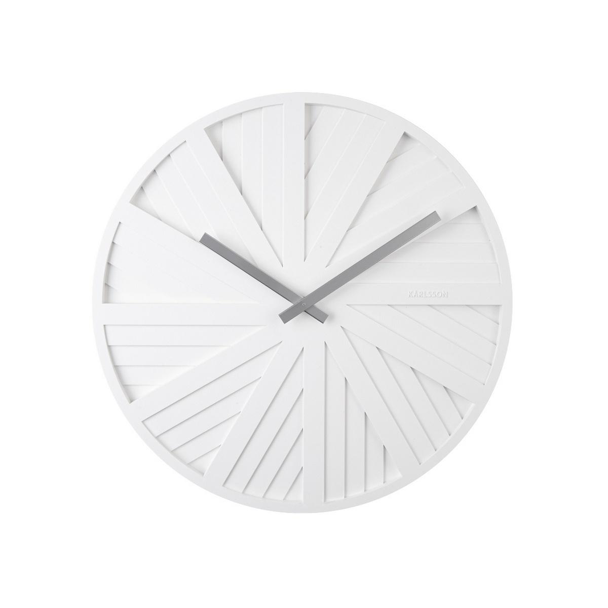 Karlsson Designové nástěnné hodiny KA5839WH