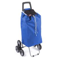 Aldo Nákupní taška na kolečkách Madrid, modrá