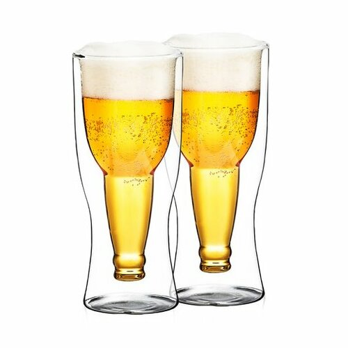 4Home Termo sklenice na pivo HotCool 370 ml, 2 ks