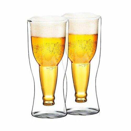 4Home Szklanka termiczna do piwa Hot&Cool 370 ml, 2 szt.