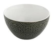 Florina Keramická miska Nadine 14 cm, šedá