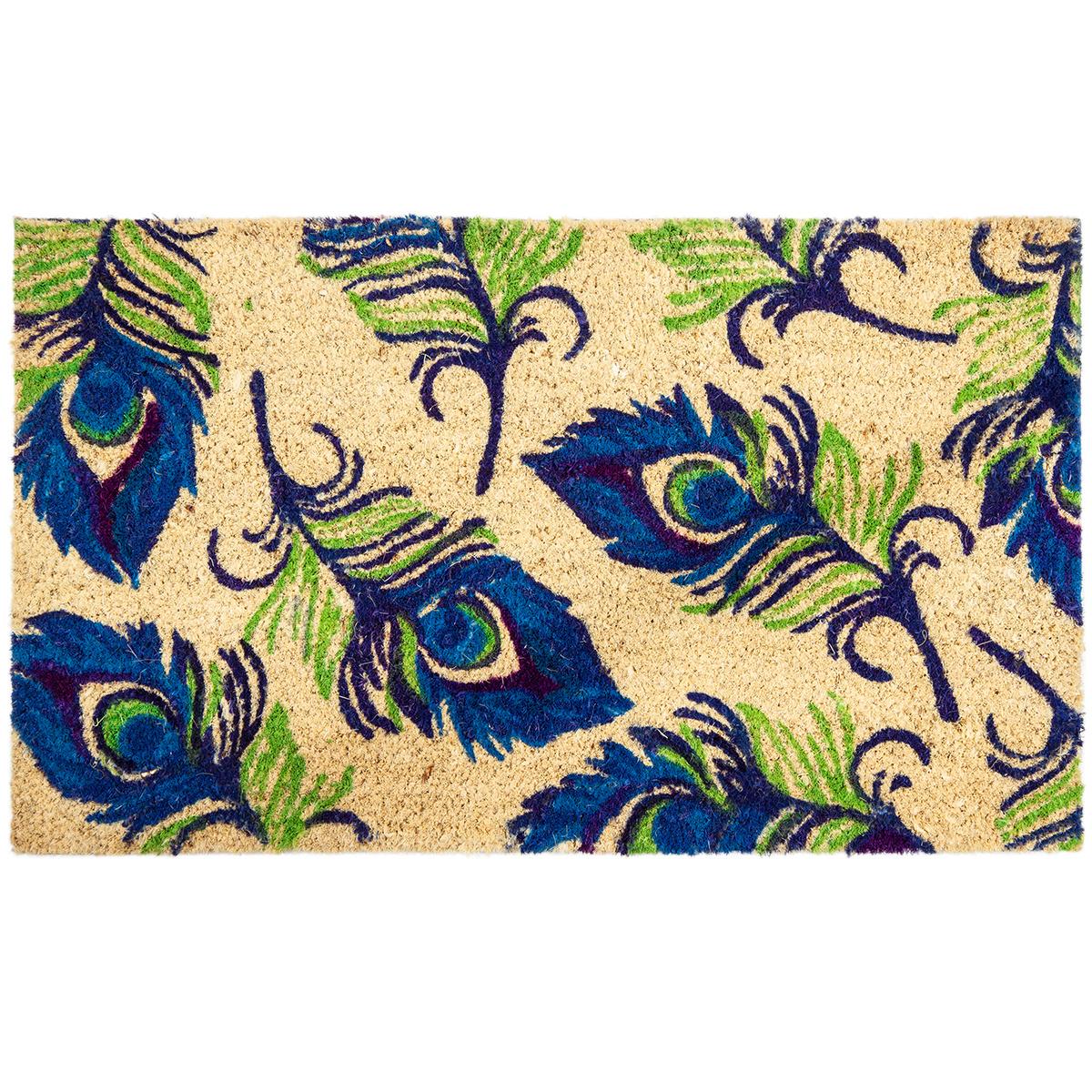 Trade Concept Kokosová rohožka Peacock, 43 x 73 cm