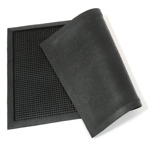 Venkovní rohožka kartáčová Rubber brush, 45 x 75 cm