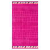 Osuška Mozaik růžová, 70 x 130 cm