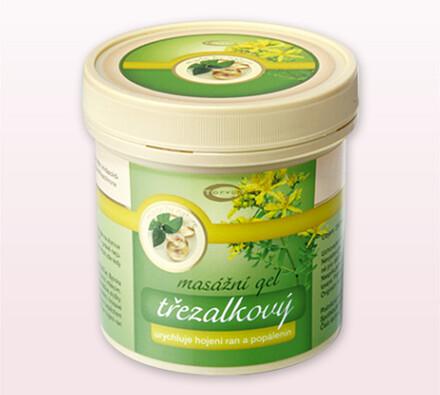 Topvet Masážní gel 250 ml třezalkový