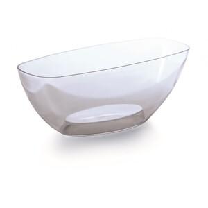 Prosperplast Dekorativní miska Coubi čirá, 36 cm, 36 cm