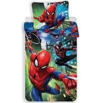 Lenjerie de pat pentru copii Spiderman 05,din flanelă, 140 x 200 cm, 70 x 90 cm