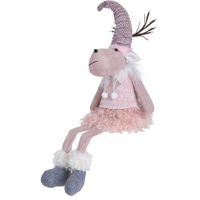 Vánoční plyšový sob Reindeer Girl, 60 cm