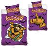 Detské obliečky Scooby Doo fialová, 140 x 200 cm, 70 x 80 cm