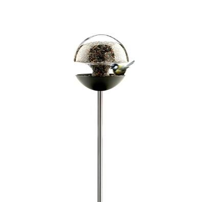 Kulaté krmítko pro ptáčky 30 cm, čiré