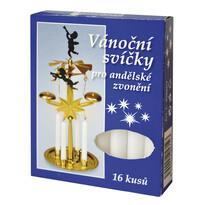 Świeczki do ruchomej dekoracji z dzwonkami