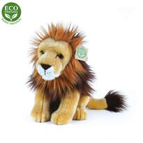 Rappa Plyšový sedící lev, 18 cm