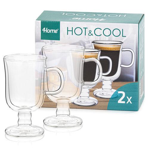 Pahare termo 4Home Irish coffee Hot&Cool 260 ml, 2 buc.