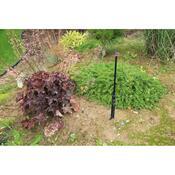 Obrubník zavlažovací Garden Diamond 6 m černý