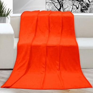 Deka Korall micro oranžová, 150 x 200 cm
