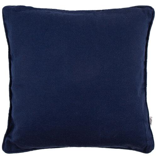 Povlak na polštářek tmavě modrá, 40 x 40 cm