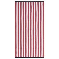 Ręcznik plażowy Splash czerwony, 90 x 170 cm