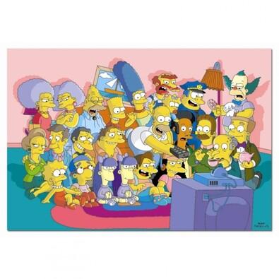 Puzzle Simpsonovi, 1000 dílků