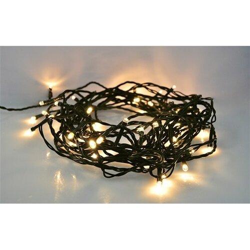 Vianočná LED reťaz vonkajšia, teplá biela 5 m, Solight