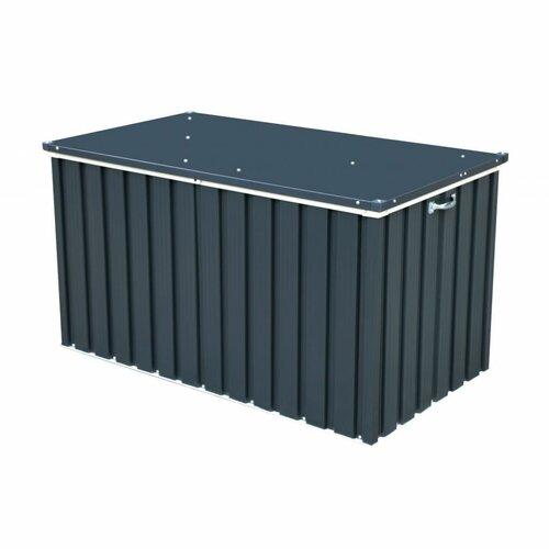 Duramax Záhradný úložný box sivá, 134 x 74 cm