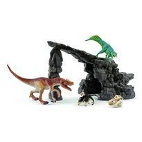 Schleich Barlang dinoszauruszokkal,  28 x 26 x 21 cm