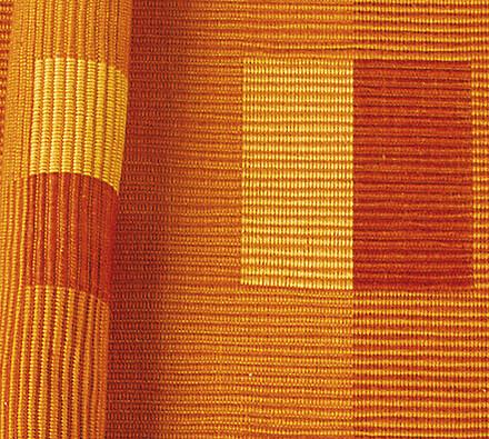 Bavlněné prostírání na stůl, oranžová