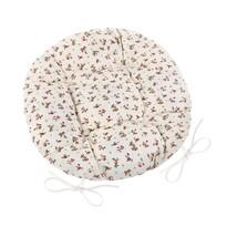 Siedzisko Adela okrągłe pikowane Różyczka, 40 cm