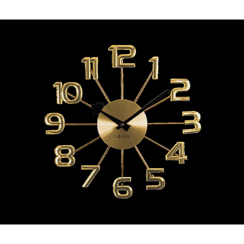 LCT1041 Nástěnné hodiny LAVVU DESIGN Numerals
