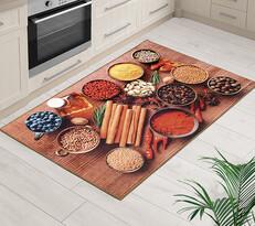 Kusový koberec Italský stůl 3D, 80 x 120 cm