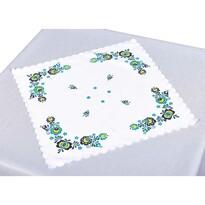 Podkładka na stół Folklor niebieska, 35 x 35 cm