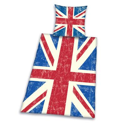 Bavlněné povlečení England flag, 140 x 200 cm, 70 x 90 cm