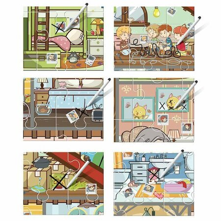 Headu Puzzle Brain Trainer s hľadaním obrázkov, 108 dielikov