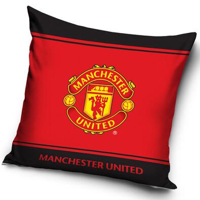 Polštářek Manchester United Erb, 40 x 40 cm