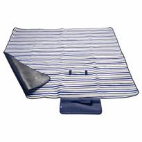 Cattara mata piknikowa Fleece niebieski, 150 x 135