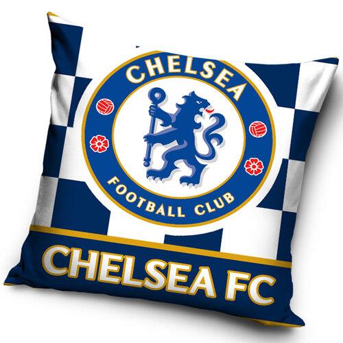 Tip Trade Vankúšik Chelsea FC Check, 40 x 40 cm,