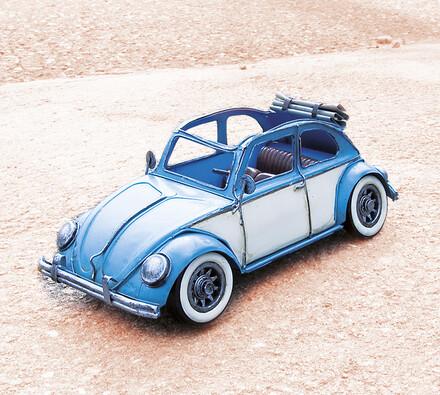 Kovový model VW brouk