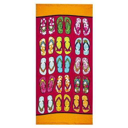 Plážová osuška Flip-Flops, 70 x 150 cm