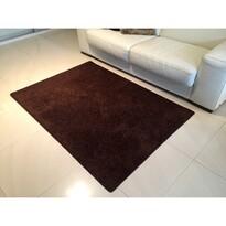 Kusový koberec Color shaggy hnedá,