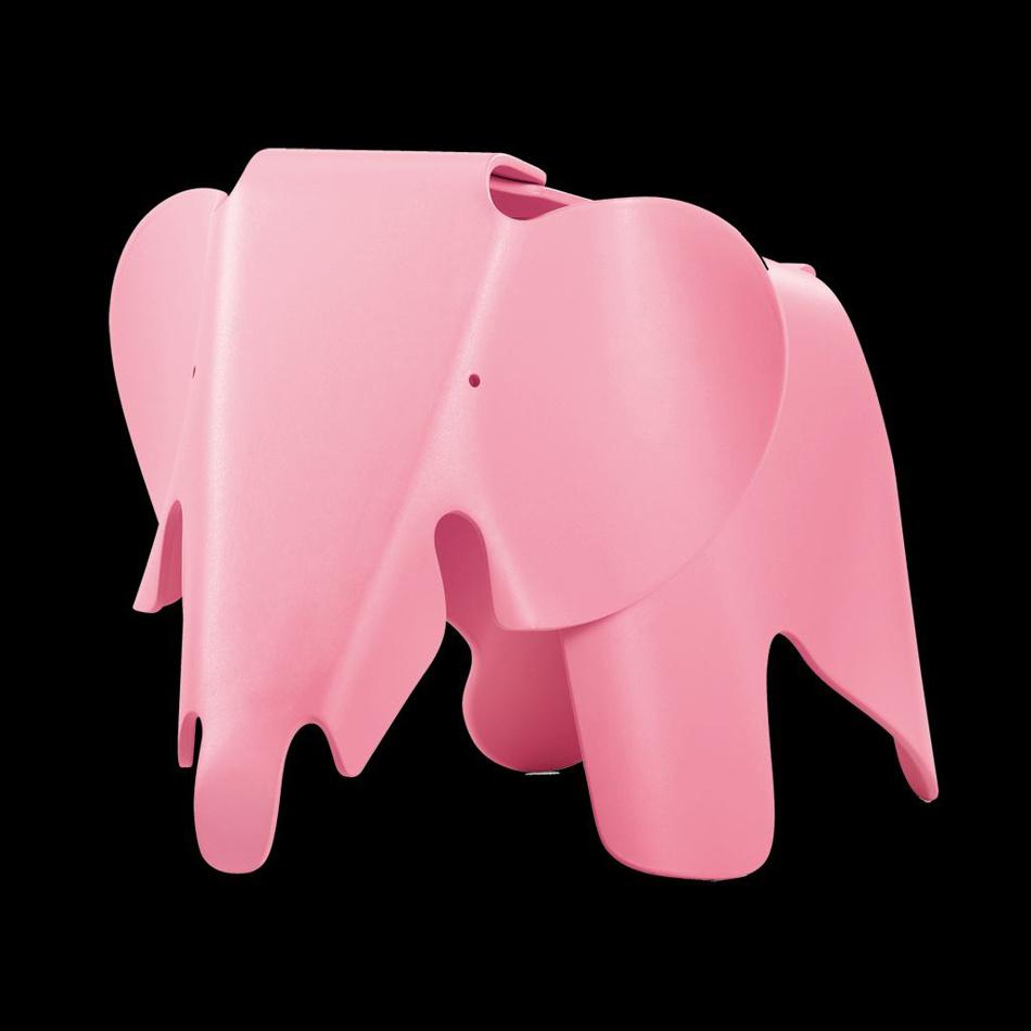 Vitra Detská sedačka EEL Eames Elephant, svetlo ružová