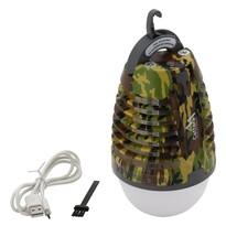Cattara Nabíjacie svietidlo s lapačom hmyzu Pear army, 70 lm