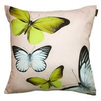 Domarex Butterfly párna, krémszínű, 40 x 40 cm