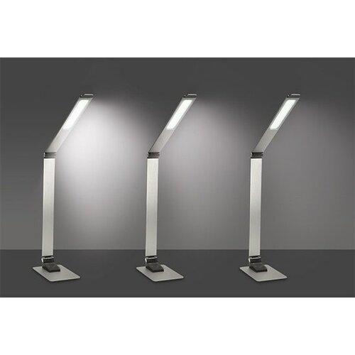 Solight WO51-S LED stolní stmívatelná lampička, stříbrná