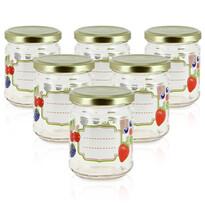 Set borcane de conservare Mäser Fructe 0,2 l,6 buc.