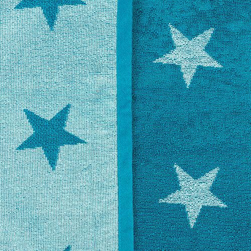 Uterák Stars tyrkysová, 50 x 100 cm