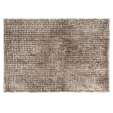 Kúpeľňová predložka Ella micro sivá, 60 x 90 cm