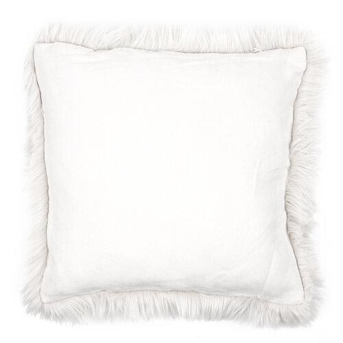 Claire kispárnahuzat krém színű 45 x 45 cm