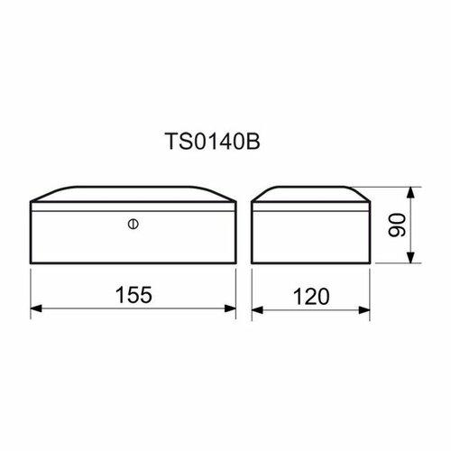Oceľová pokladnička TS.0140.C