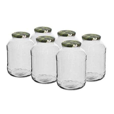 Sada zavařovacích sklenic 1,5, 6 ks