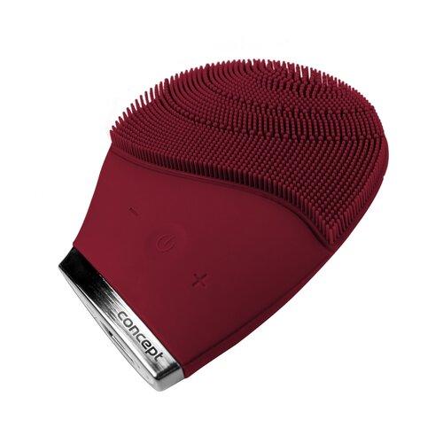 Concept SK9001 čistiaca sonická kefka na tvár Sonivibe, burgundy